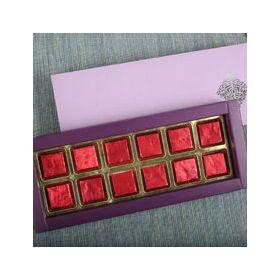 Assorted Butterscotch Chocolates Box