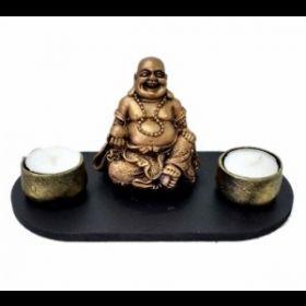 Laughing Buddha Candle holder