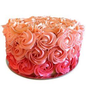 Rosset design Anniversary cake