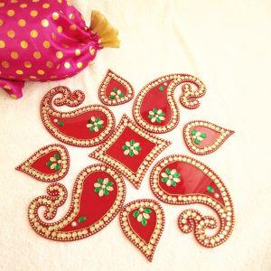 Diwali decorative acrylic