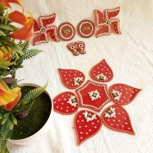 Diwali Decorative Acrylic Rangoli Hamper