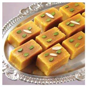Sweetness With Desi ghee Mysore pak