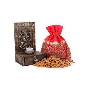 Shri Ganesh with Dryfruits