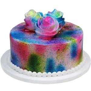 Lovely Flowery Holi Cake