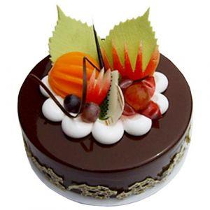 Fruit Chocolate  cake