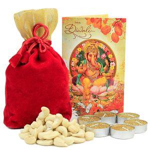 TLights Cashews Diwali Hamper
