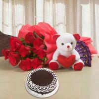 Softy Roses Hamper