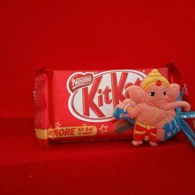 Ganesh Rakhi With Kitkat