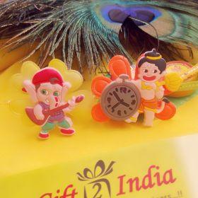 Rakhi Set of 2 For Kids