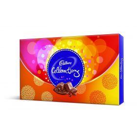 Cadbury Celebrations Gift Pack, 121g (Assorted Chocolates)
