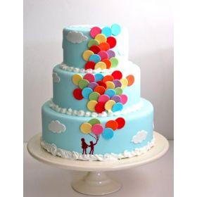 Wedding Balloons Cake 5 kg