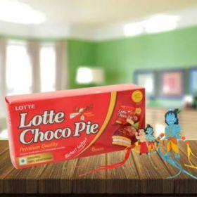 Bheem And Krishna Rakhi with Lotte Choco Pie