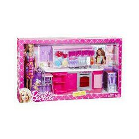 Barbie house set