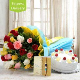 Love For Flowers N Rakhi