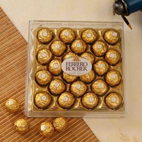 Box of Delicious Ferrero Rocher Chocolates (24 pcs)