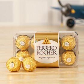 Box of Yummy Ferrero Rocher Chocolate 16 pcs