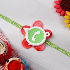 Designer Watsapp Dial Rakhi For Kids