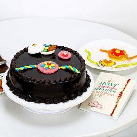 Truffle Cake With Rakhi