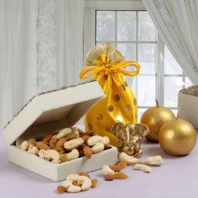 Dry Fruits Candles & Ganesha