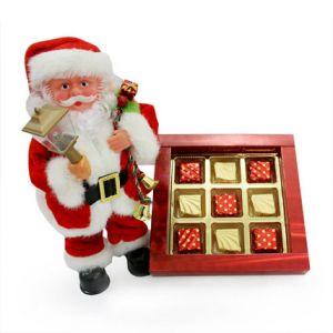 Santa with Chocolate Box