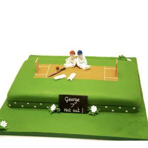 Designer Cricket Cake