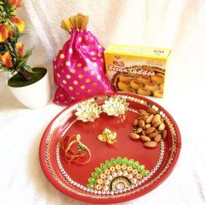 A Healthy Puja Thali