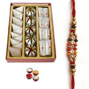Rakhi & kaju Sweets