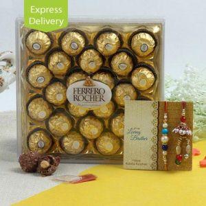 Tempting Choco Rakhi
